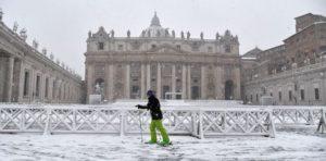 Roma e le precipitazioni atmosferiche soggettive!